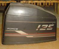 Used motor hood or cowling for a 1989 125 hp Force outboard motorF2C693712
