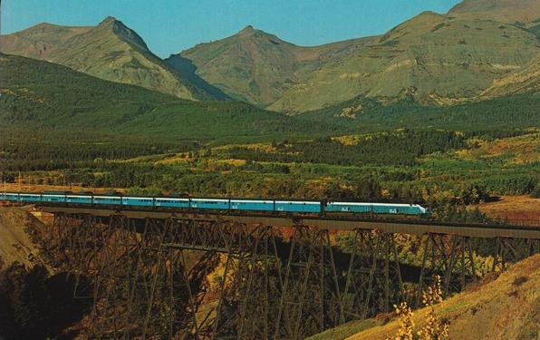 Great Northern's Empire Builder, circa 1970.