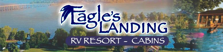 eagle's landing RV resort and cabins Grove OK