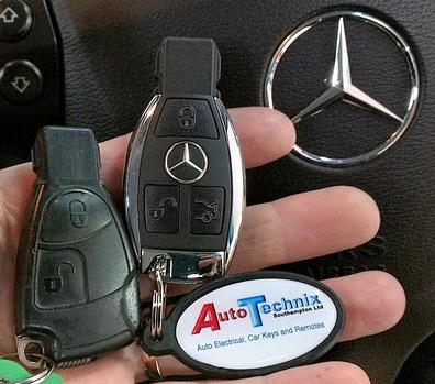 Mercedes Chrome remote key