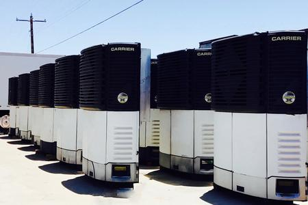 2004-2006 GROUP OF 10 CARRIER REEFER UNITS