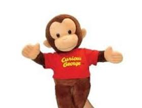 Hire Curious George style Puppet with The Man In The Yellow Hat