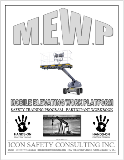 MEWP - Mobile Elevating Work Platform Training - ICON SAFETY CONSULTING INC.