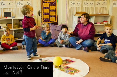 Should there be circle time in a Montessori school? - Montessori Print Shop