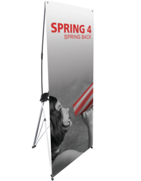Spring 4 Banner Stand