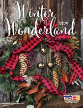 Winter Wonderland Fundraising Brochure with home decor