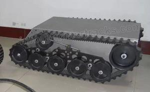 PLDP-100 robot platform of tracked robot chassis uk