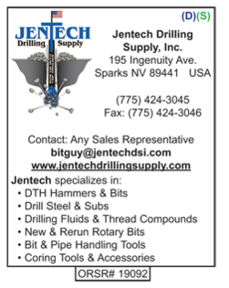 Drilling Supplies, Jentech Drilling Supply
