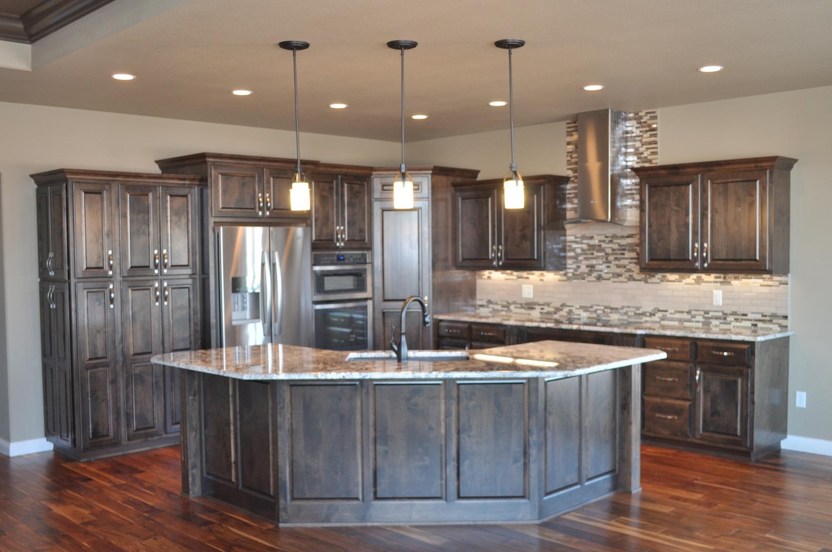 Cabinets bismarck nd for New kitchen cedar grove
