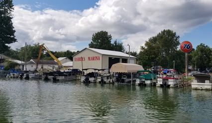 fishers marina, buckeye lake marina since 1912