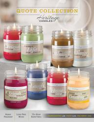 Heritage Candles Quote Candles Fundraiser