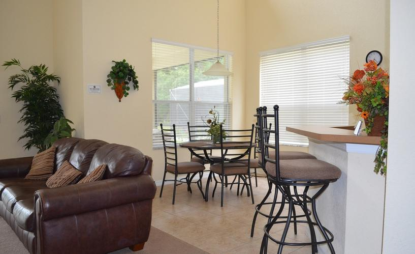 TranquilityFlorida Wheelchair Accessible Breakfast Nook