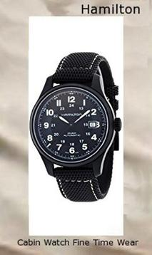 Product Specifications Watch Information Brand, Seller, or Collection Name Hamilton Model number H70575733 Part Number H70575733 Item Shape Round Dial window material type Synthetic sapphire Display Type analog-display Clasp tang-buckle Metal stamp none Case material Titanium Case diameter 42 Case Thickness 12 millimeters Band Material Canvas Band length Men's Standard Band width 20 millimeters Band Color Black Dial color Black Bezel material Titanium Calendar Date Special features Water Resistant, Calendar, Luminous Item weight 1.1 Pounds Movement Swiss automatic Water resistant depth 100 Meters,hamilton watch