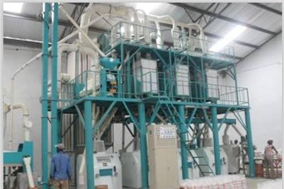 50 ton medium maize mill plant running in Congo
