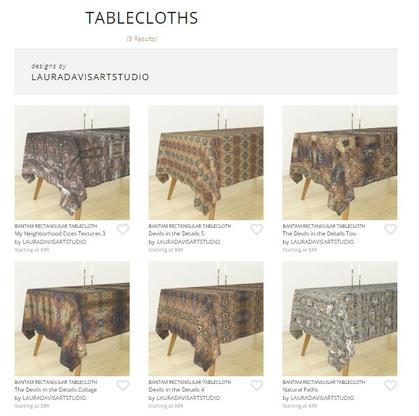Tableclothes by Laura Davis Art Studio on Roostery