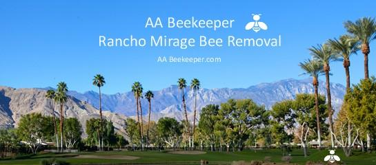 Rancho Mirage Bee Removal services
