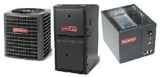 Goodman GSX13 Furnace and Air Conditioning Package