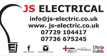 JS Electrical are a Hertfordshire based electrical company with over 15 years' experience. There are 2 directors in the partnership, Jamie Cornwell and Steven Valle and they are both fully qualified with City & Guilds accreditations and the company is NICEIC and part p registered.