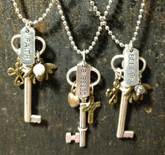 Affirmation Key Necklace