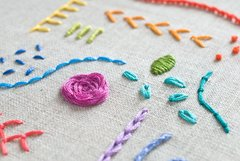 Embroidery Bootcamp - Wednesday, June 28th 6-8p
