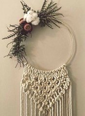 Floral & Macrame Wreath Workshop