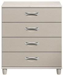 Moda Elm & cashmere Chest of Drawers - 4 Drawers