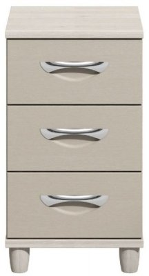 Moda elm & cashmere Narrow Chest of Drawers - 3 Drawers