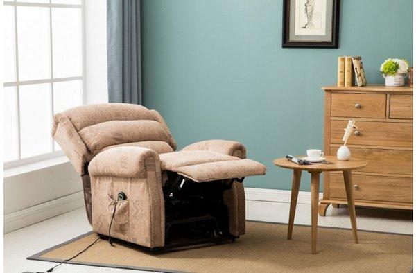 Manhattan Fabric Rise & Recline Chair