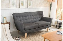 Loft 3 Seater Sofa grey or red