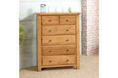 Woodstock 4+2 Chest oak or grey
