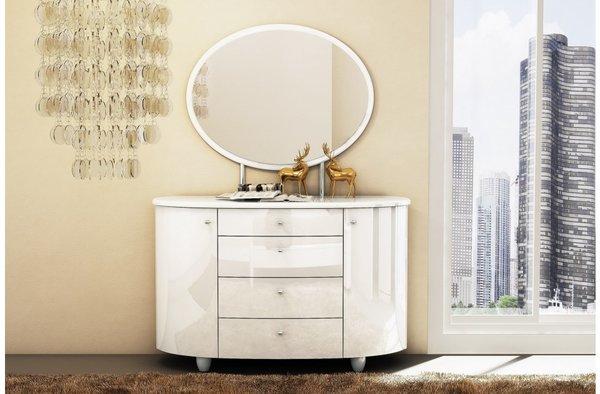 Aztec 4 Drawer Dresser & Mirror Set