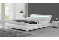 Madrid LED Bed Frame- Black, White or Black & White- Single, Double or King Size
