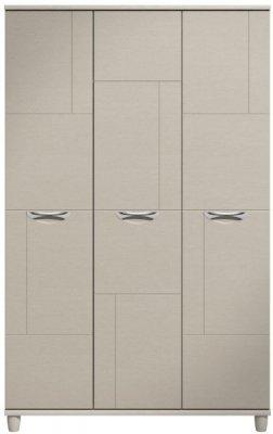 Moda elm & cashmere Wardrobe - 3 Doors