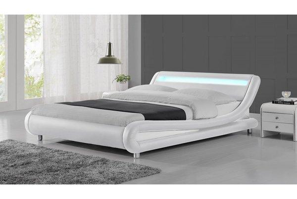 Madrid LED Bed Frame- Black, White or Black & White- Single, Double or King Size