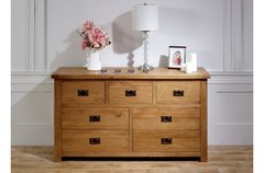 Malvern 3 Over 4 Drawer Chest