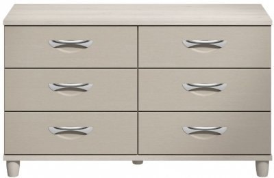 Moda Elm & cashmere Chest of Drawers - 6 Drawers