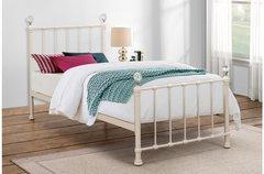 jessica single bed cream/pink