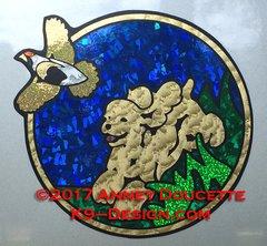 Cocker Spaniel Quail Hunting Magnet - Choose Color