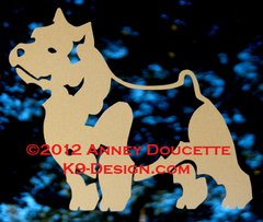 Norwich Terrier Standing Decal