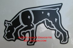 Giant Schnauzer Tracking Magnet - Choose Color