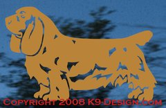 Sussex Spaniel Stacked Decal