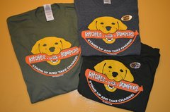 "Yellow Labrador Retriever ""BITCHES WITH BUMPERS"" T-Shirts"