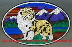 "Shetland Sheepdog ""Colorado"" XL Oval Magnet - Choose Dog Color"