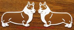 Pembroke Welsh Corgi Stacked Magnet - Choose Color