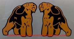 Welsh Terrier Standing Magnet
