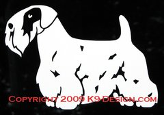 Sealyham Terrier Standing Decal
