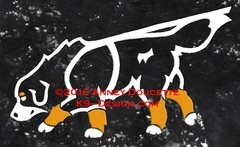 Bernese Mountain Dog Tracking Decal