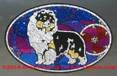 """Shetland Sheepdog """"Show Spectacular"""" XL Oval Magnet - Choose Dog Color"""
