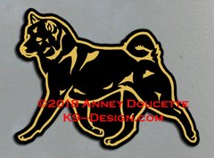 Shiba Inu Trotting Magnet - Choose Color