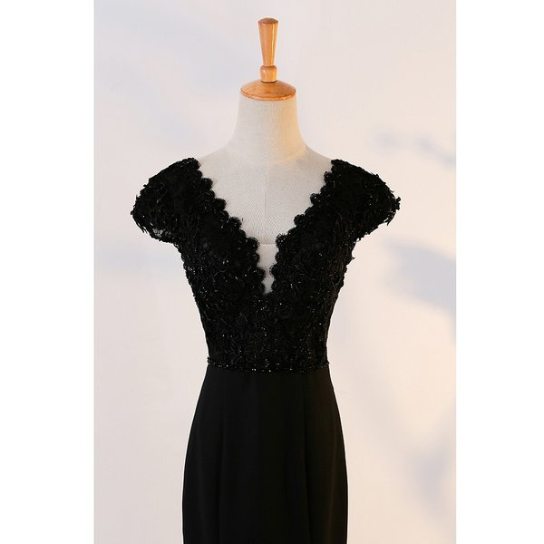 Wholesale SOCCI Weekend Vintage Long Evening Dress 2017 Black Lace ...